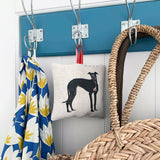 greyhound lavender bag in situ