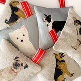 dog themed lavender bags