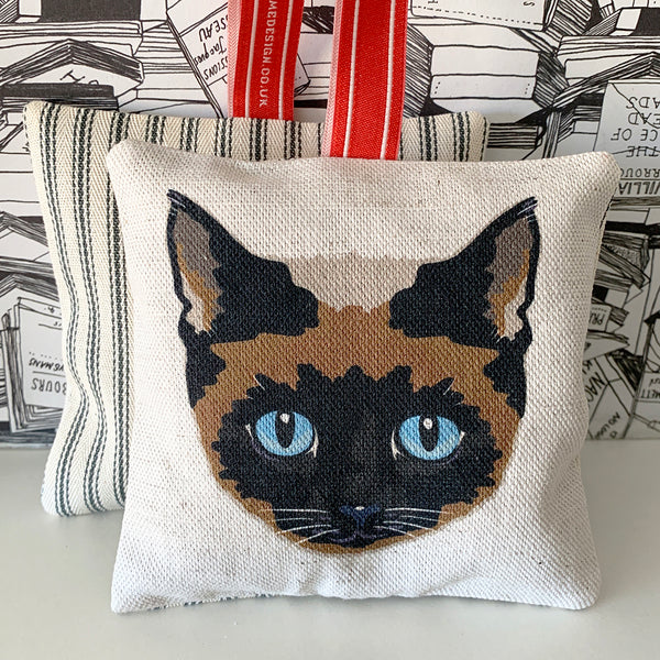siamese cat lavender bag
