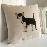 Chihuahua feature cushion