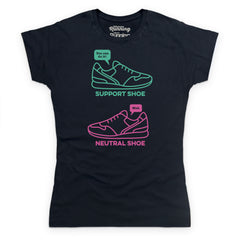 Support and neutral - slogan tee (women's)