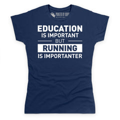 Running is Important T Shirt
