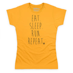 Eat, Sleep, Run, Repeat - dark text