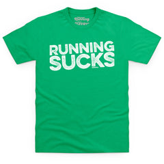 Running Sucks - light text