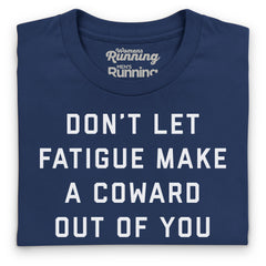 Prefontaine slogan tee - men's