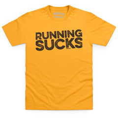 Running Sucks - dark text