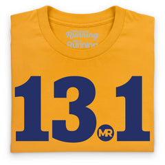 Half marathon men's digit tee