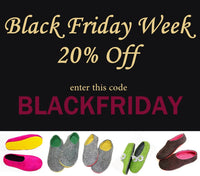 Your Black Friday Feet Warm Up. You CAN'T Miss 20% Off