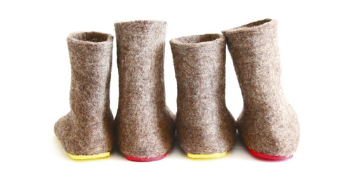 Felt Boots in case of cold feet at woolwalker.com