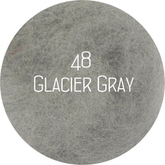 Custom Felt Slippers. Upper Grey with 49 Color Trends For Interior. Unisex - Wool Walker  - 54
