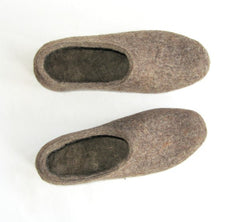 Womens Eco Friendly Felt Slippers Indoors - Wool Walker  - 3