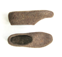 Womens Eco Friendly Felt Slippers Indoors - Wool Walker  - 4