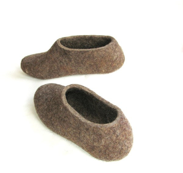 Womens Eco Friendly Felt Slippers Indoors - Wool Walker  - 5