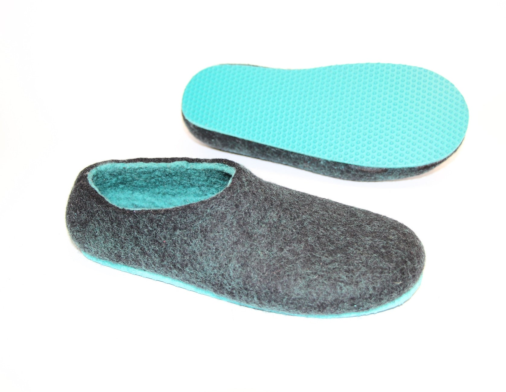 Womens Felted Slippers Lucite - Wool Walker  - 3