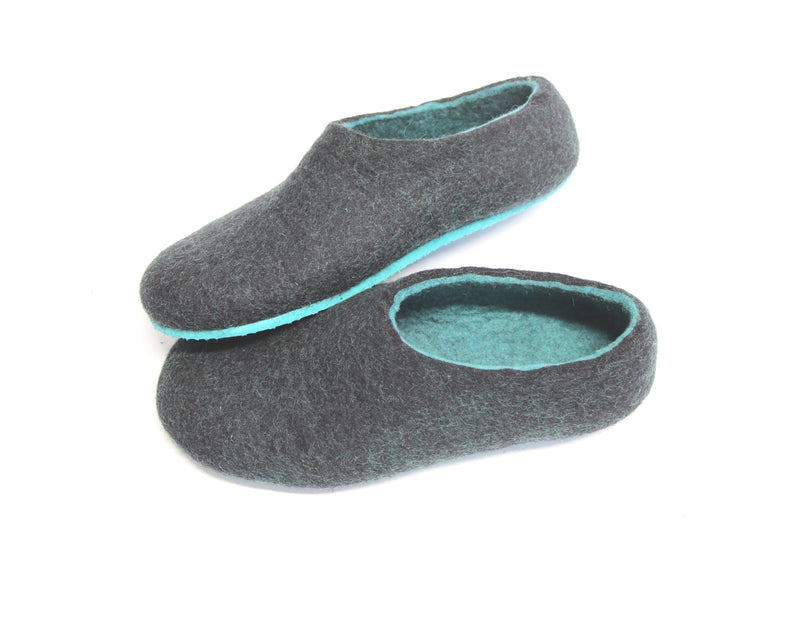 Womens Felted Slippers Lucite - Wool Walker  - 1