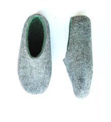 Mens Indoor Felt Slippers Woods - Wool Walker  - 5