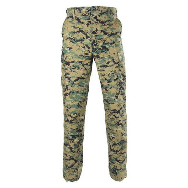 Genuine Gear: BDU Ripstop Pants Digital Woodland