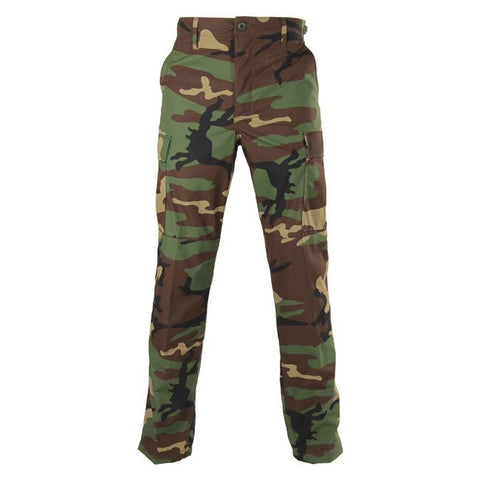 Genuine Gear: BDU Ripstop Pants Woodland Camo