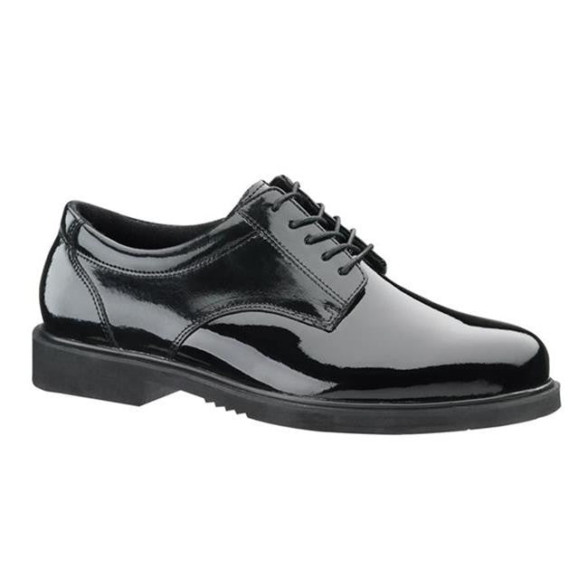 Thorogood Poromeric Gloss Black Academy Oxford