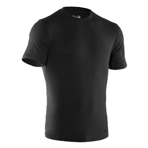 UA Men's Tactical Charged Cotton T-Shirt Black