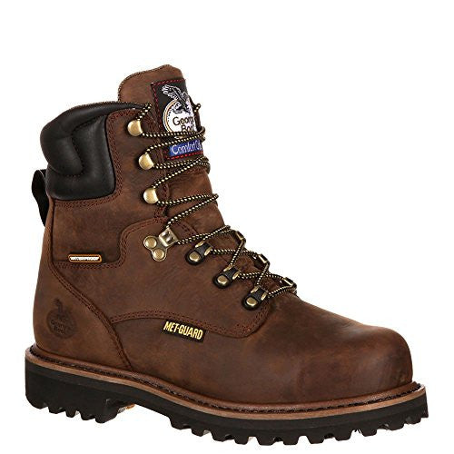 "Georgia Boot Hammer 8"" Steel Toe Metguard Men's Boot"