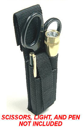 Raine: EMT Pouch Holder w/ Belt Loop Mini - Vertical