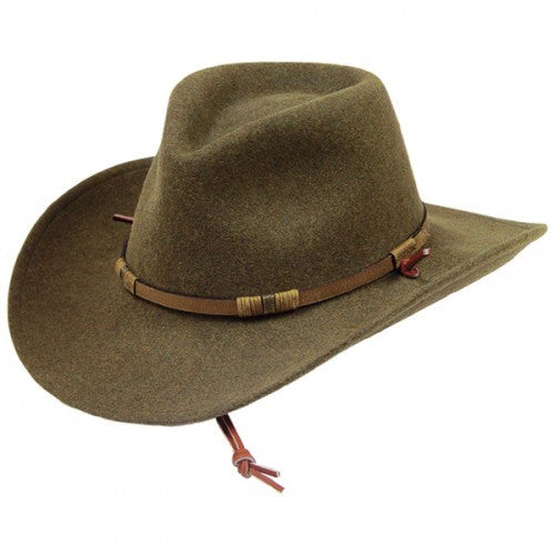 e5fbf829f Stetson Cruiser - Crushable Wool Fedora Hat – Army Navy Now