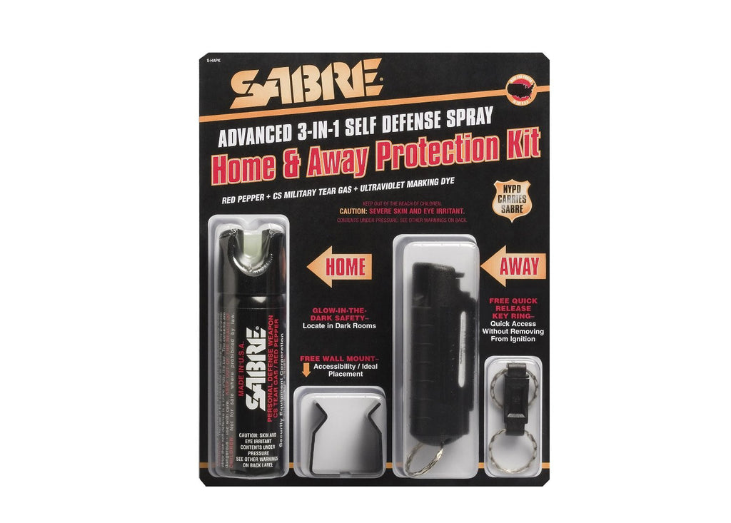 Rothco Spray: Sabre 3 In 1 Home & Away Kit