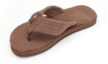 Rainbow Kids Premier Leather Single Layer Wide Strap eXpresso