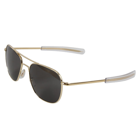 American Optical: Original Pilots Aviators Sunglasses - Gold