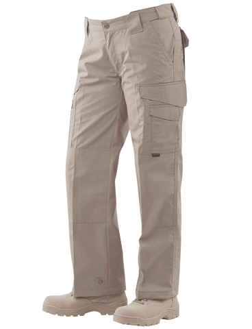 Tru Spec 24-7 Series Women's Tactical Pants 65/35 Rip-Stop Khaki