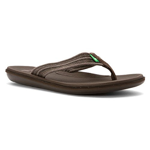 Sanuk Men's Planer Webbing Brown
