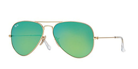 Ray-ban Aviator Flash Lens Sunglasses - Green