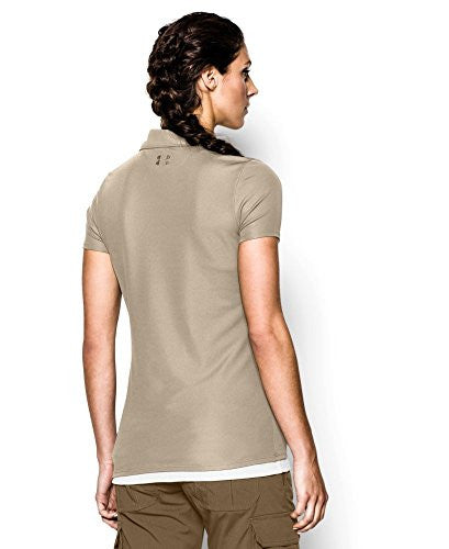 Under Armour Women's Tactical Breech Polo - Desert Sand