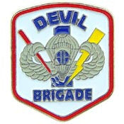"PINS- ARMY, DEVIL BRIGADE (1"")"
