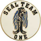 "PINS- USN, Navy SEAL TEAM, 01 (15/16"")"