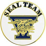 "PINS- USN, Navy SEAL TEAM, 05 (15/16"")"