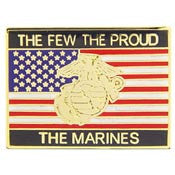 "PINS- USMC, Marine Core THE FEW, USA (1"")"