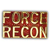 "PINS- USMC, Marine Core SCR, FORCE RECON (1"")"