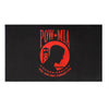 Flags: POW MIA 3′ x 5′ Flag (Red)