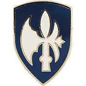 "PINS- ARMY, 065TH INF.DIV. (1"")"