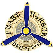 "PINS- WWII, PEARL HARBOR, AIR (1"")"
