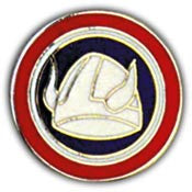 "PINS- ARMY, 047TH INF.DIV. (1"")"