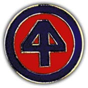 "PINS- ARMY, 044TH INF.DIV. (1"")"