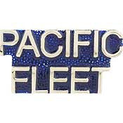 "PINS- USN, Navy SCR, PACIFIC FLEET (1"")"