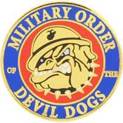 "PINS- USMC, Marine Core DEVIL DOGS (1"")"