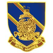 "PINS- BRITISH, ROYAL MARINES (1"")"