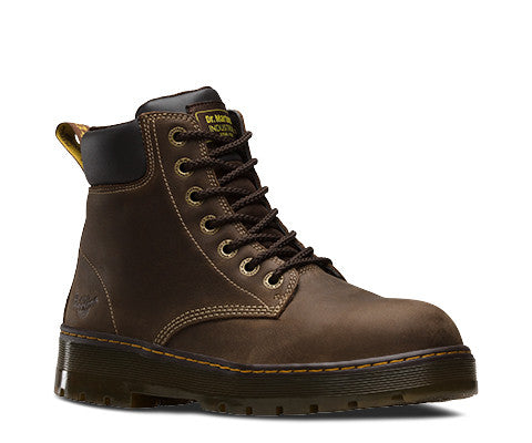 Dr. Martens Men's Winch Extra Wide Steel Toe - Brown