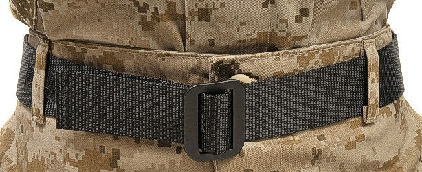 Raine: Military Riggers Belt Black