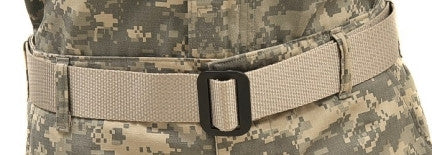 Raine: Military Riggers Belt Sand - Medium